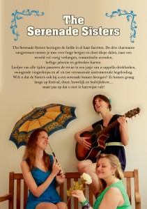 flyer the serenade sisters